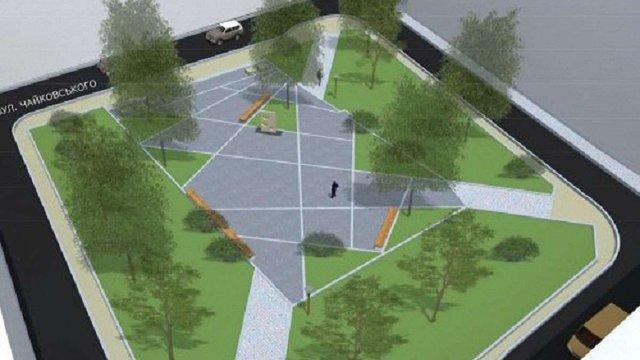 У Львові відновили реконструкцію площі Маланюка
