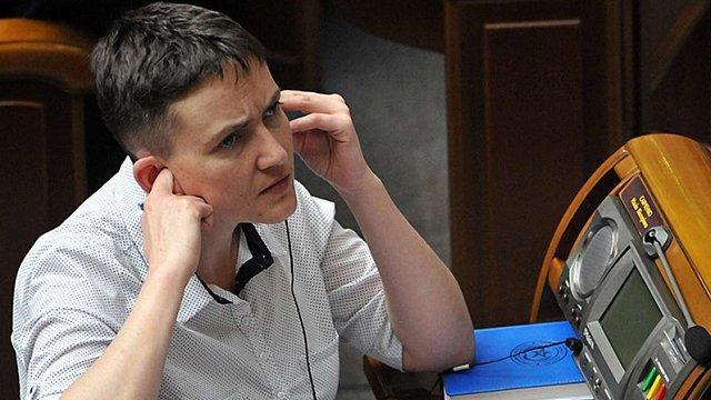 Надія Савченко просить президента ветувати зміни до її закону