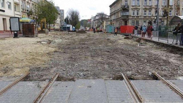 У Львові перекривають Личаківську від вул. Мечникова до вул. Котика