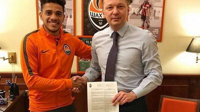 Бразилець Тайсон продовжив контракт із «Шахтарем»