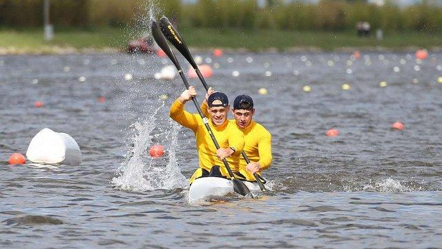 На етапі Кубка світу в Угорщині українські веслярі завоювали три медалі