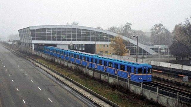 У київському метро загинув екстремал, який спробував покататися зачепившись за вагон