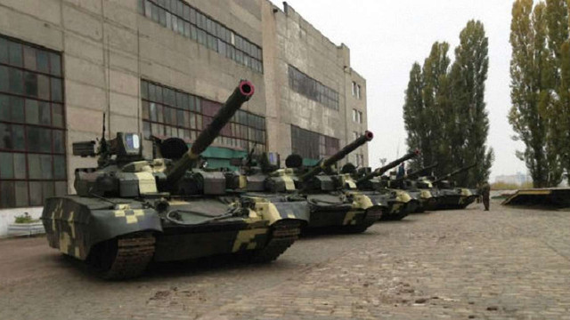 У мережі показали нові українські танки «Оплот»