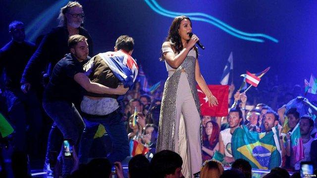 Джамала вперше після «Євробачення» прокоментувала витівку пранкера Віталія Седюка