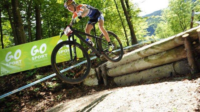 Українська велогонщиця перемогла на другому етапі Кубка світу з маунтинбайку