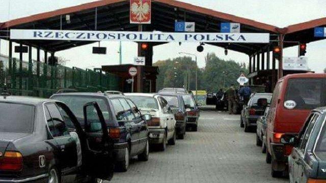 Польща назвала Україну відповідальною за черги на українсько-польському кордоні