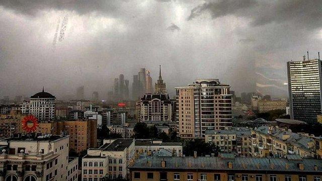 У Москві під час буревію загинуло 12 людей