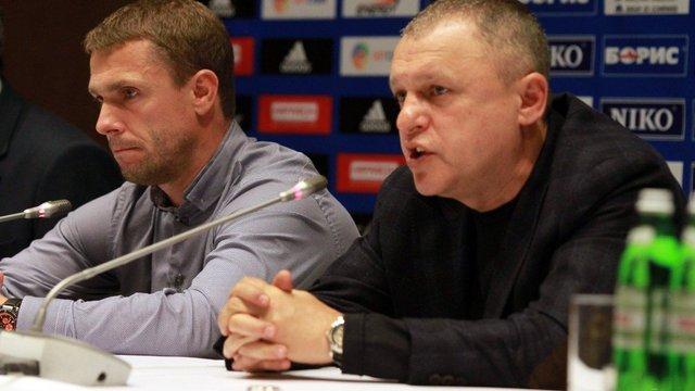 Сергій Ребров не захотів залишитись в «Динамо» попри прохання Ігоря Суркіса