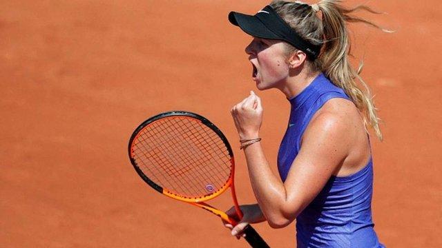 Перша ракетка України вийшла у третій раунд Roland Garros
