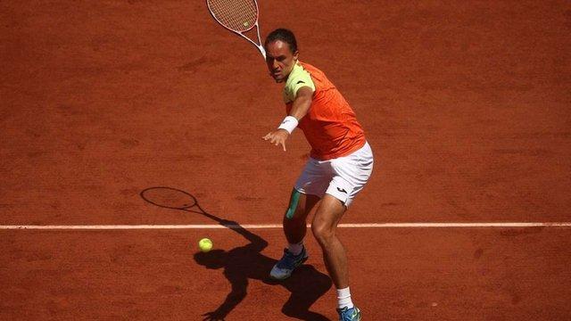 Українець Олександр Долгополов програв третій ракетці світу на Roland Garros