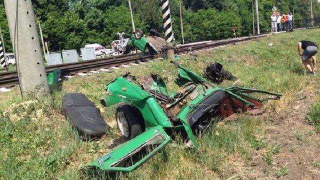 У Чернігівській області поїзд розчавив «Запорожець» разом з водієм