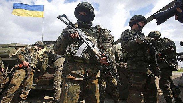 Військовослужбовці ЗСУ зайняли нові позиції у «сірій» зоні на Луганщині