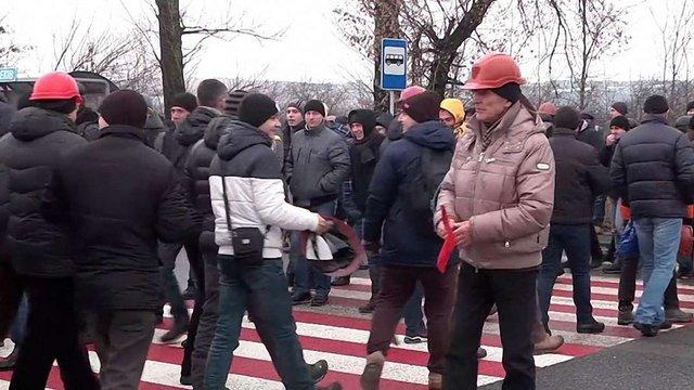 Львівські шахтарі погрожують перекрити міжнародний пункт пропуску «Рава-Руська»
