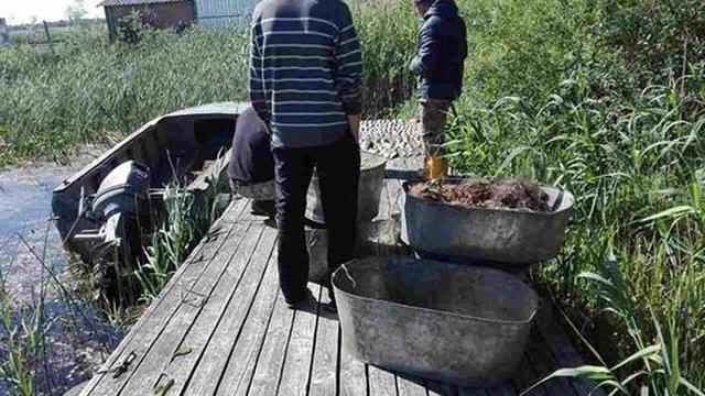 На Київщині водний патруль затримав рибалок браконьєрів