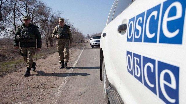 Спостерігачі ОБСЄ зафіксували закладення бойовиками протитанкових мін під Первомайськом