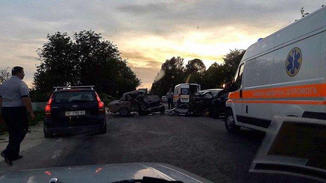 У ДТП на автодорозі «Львів-Тернопіль» загинули водій та пасажир
