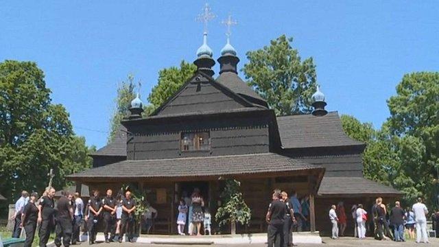 У Коломиї на Трійцю стався конфлікт між парафіянами УГКЦ та УПЦ (МП)