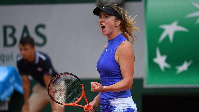 Еліна Світоліна зіграє у чвертьфіналі Roland Garros на знеболювальних препаратах
