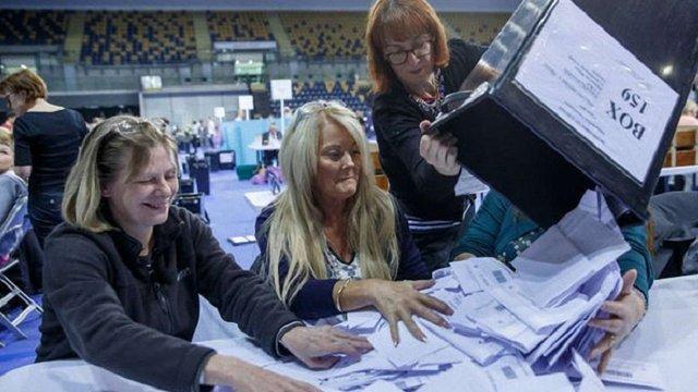 У Великобританії оприлюднили результати парламентських виборів