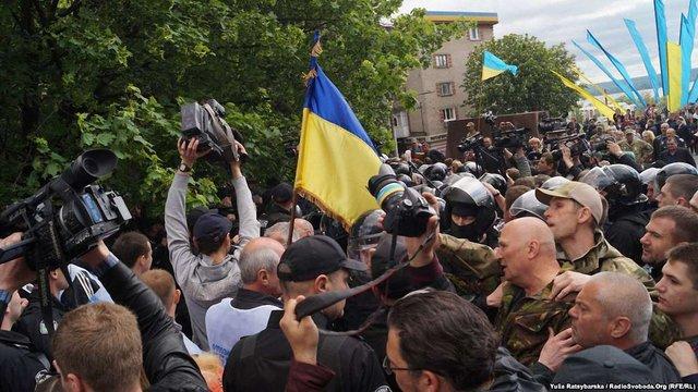 У Дніпрі затримали ще одного співорганізатора заворушень на 9 травня