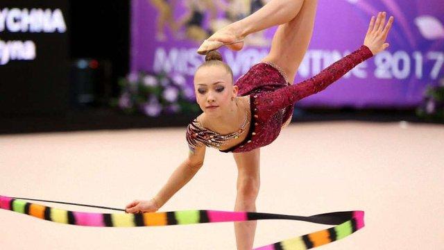 Львів'янка вперше стала чемпіонкою України з художньої гімнастики