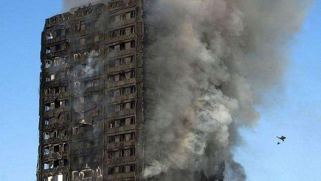 Внаслідок пожежі в лондонській багатоповерхівці загинули шестеро людей