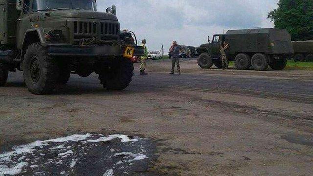 Військова прокуратура розпочала розслідування ДТП, яку спричинив строковик із Львівщини