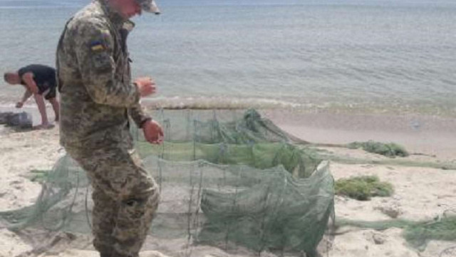 В Одеській області прикордонники затримали браконьєрів з уловом на ₴14 млн