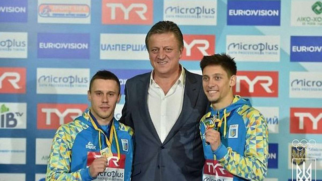 Українська збірна завоювала десяту медаль на домашньому чемпіонаті Європи зі стрибків у воду