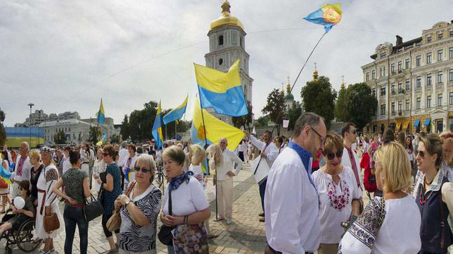 Понад 90% українських громадян вважають себе українцями за національністю, - соцопитування