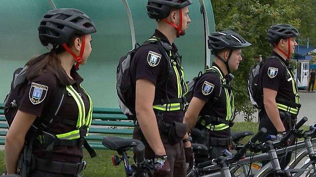 Рівне стало дев'ятим містом де запрацював велопатруль Національної поліції