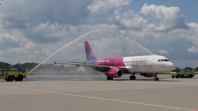 Wizz Air запустив регулярне авіасполучення між Львовом та Берліном