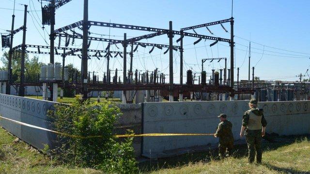У Донецькій області диверсанти намагалися підірвати електропідстанцію