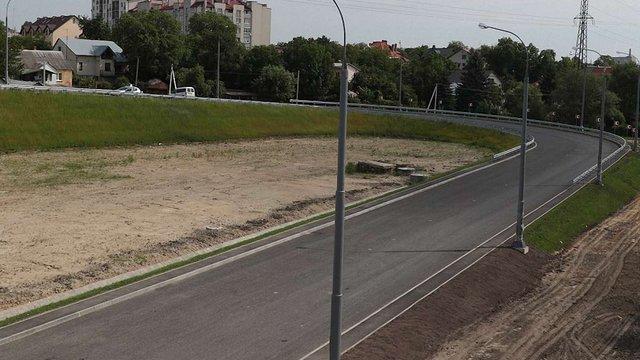 У Львові відкрили новий з'їзд із Сихівського моста
