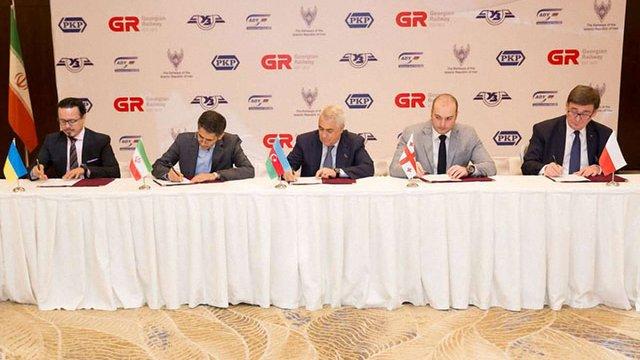 Україна і ще чотири країни готують новий транзитний коридор з Індії до Європи