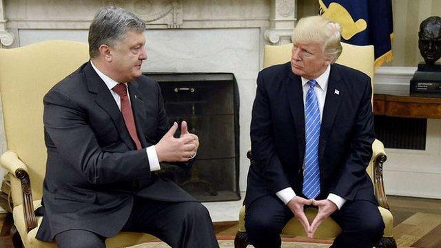 Петро Порошенко зустрівся з президентом США
