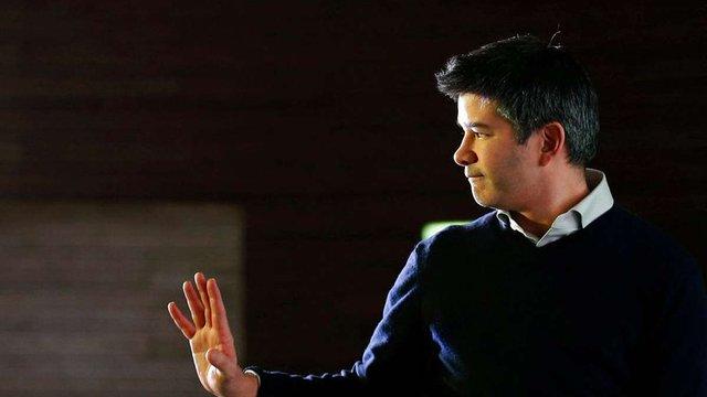 Засновник Uber пішов у відставку з посади гендиректора компанії