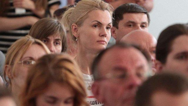 Дружина Садового закликала львів'ян виходити протестувати під ЛОДА
