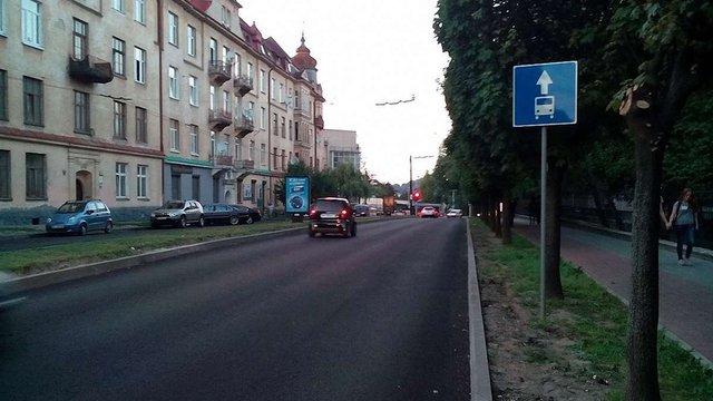 У Львові на три дні перекриють рух транспорту на вул. Митрополита Андрея