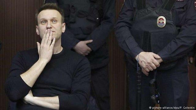 У Центрвиборчкомі РФ заявили, що опозиціонер Олексій Навальний не може балотуватися в президенти