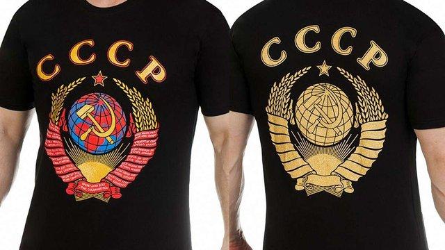 У Києві поліцейські змусили чоловіка зняти футболку з написом «СССР»