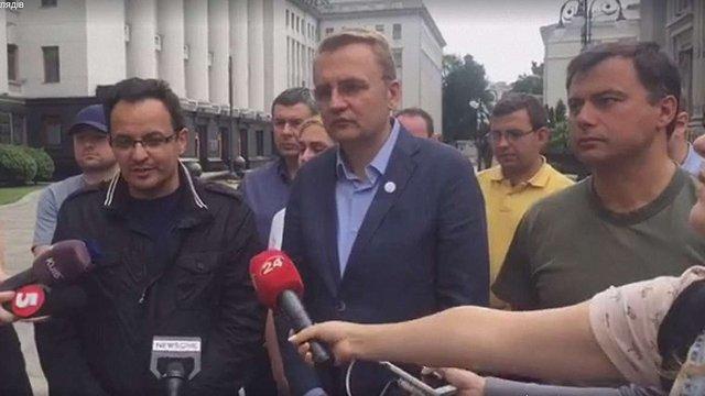 Нардепи Березюк та Пастух оголосили про припинення голодування