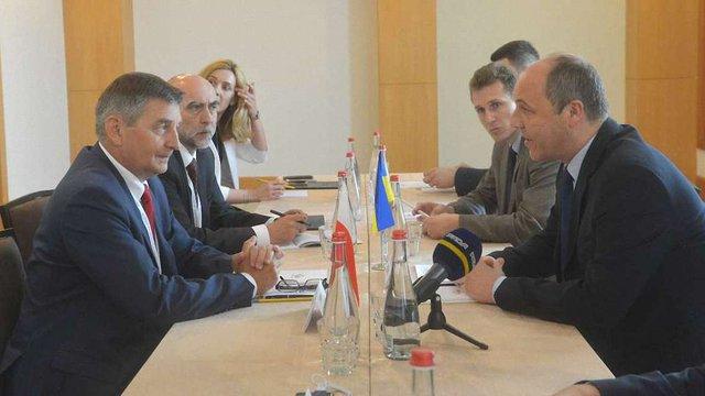 Україна і Польща домовились спільно реалізувати декілька інфраструктурних проектів