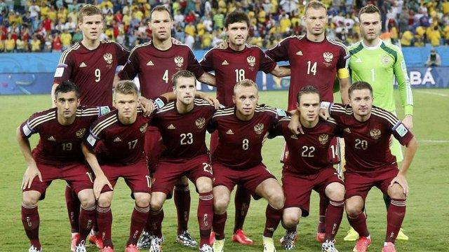 Усіх футболістів збірної Росії підозрюють у вживанні допінгу на ЧС 2014 року