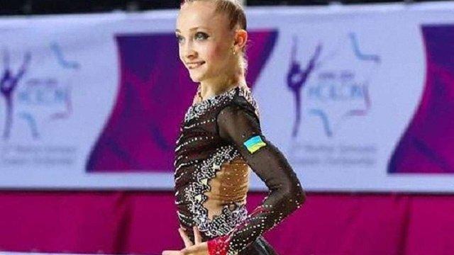 Христина Погранична завоювала три медалі для української збірної з художньої гімнастики