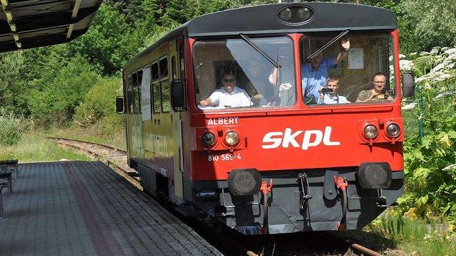 На польсько-українському прикордонні здійснив пробний рейс поїзд Загуж-Хирів