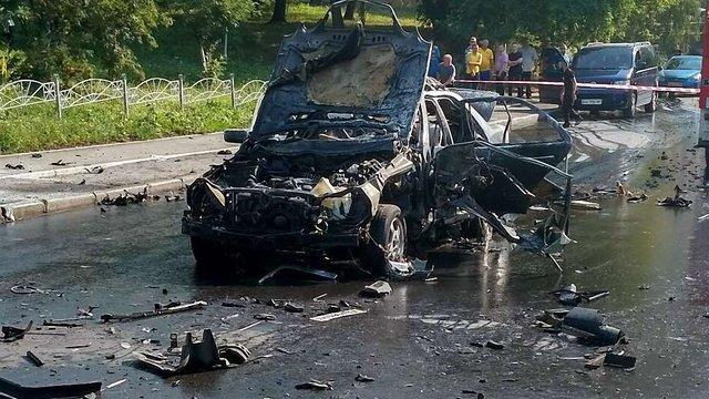 У Києві внаслідок вибуху автомобіля загинув полковник ГУР Міноборони