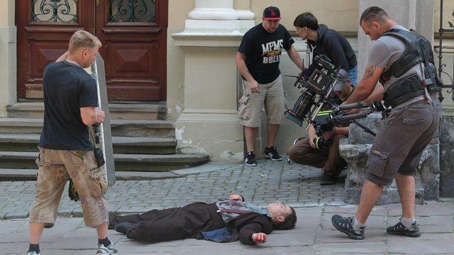 У Львові тривають зйомки нового українського фільму «Екс»