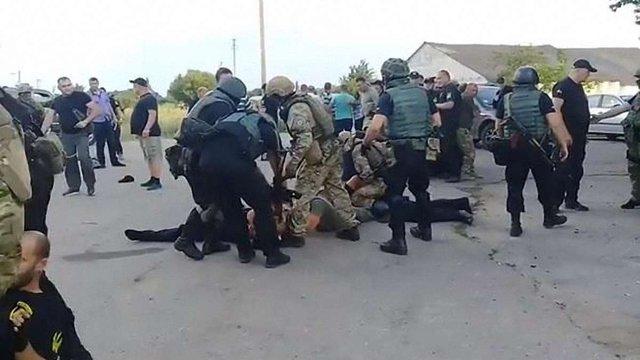 Поліція Кіровоградської області прокоментувала інцидент із побиттям ветеранів АТО