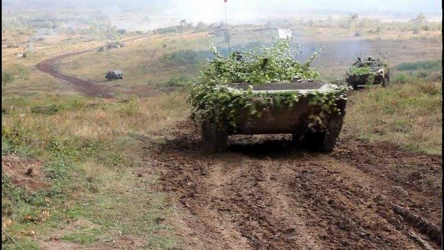 На Рівненському військовому полігоні під час навчань травмувалися п'ятеро вояків